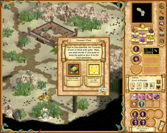 Heroes IV teaches us that philanthropy makes you a stronger warmonger